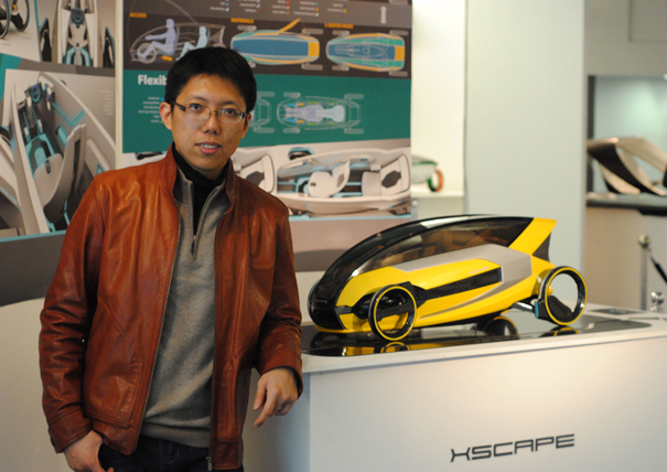 XSCAPE 2030 concept car for escaping from urbanization by Shengjie Wang