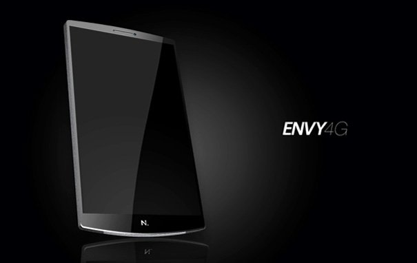 Envy 4G Concept Mobile Phone by Vitor Gomes