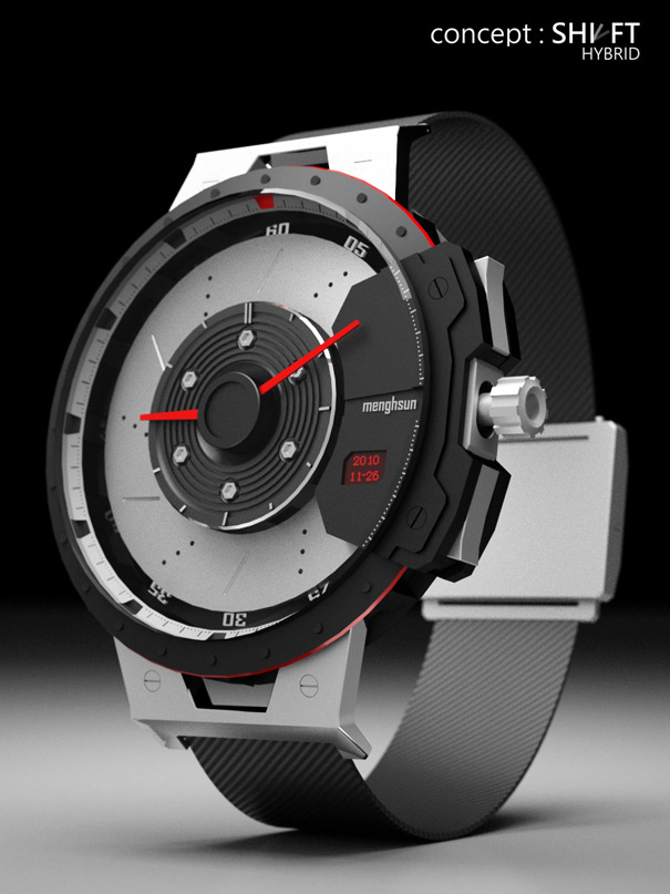 Shift Hybrid Watch Concept by Menghsun Wu
