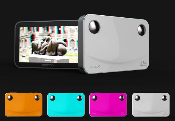 Minimalist 3D Camera is All Smiles