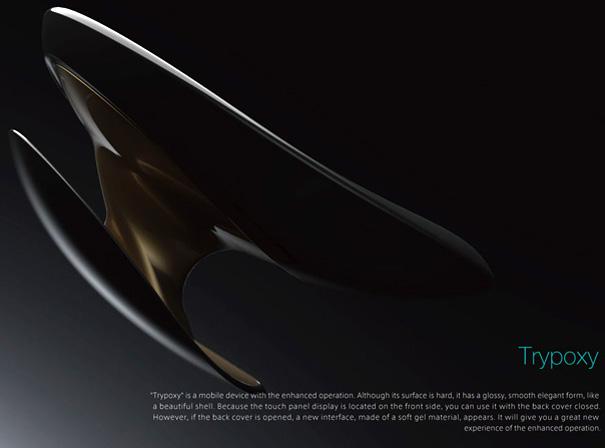 Trypoxy Phone Concept by Miyazawa Tetsu & Ichimura Shigenori