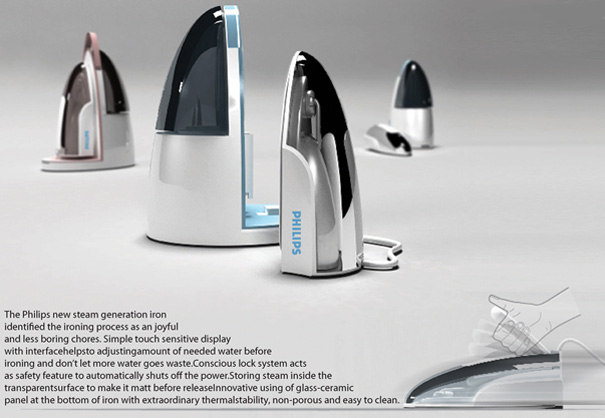 Easy Ironing Concept by Mohsen Ahi Andy