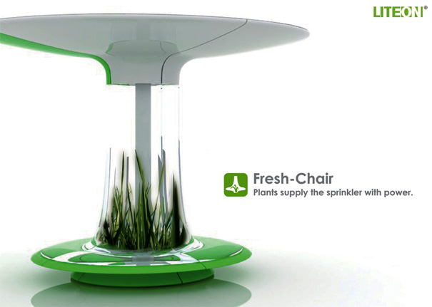 Refreshing Bench at Your Service