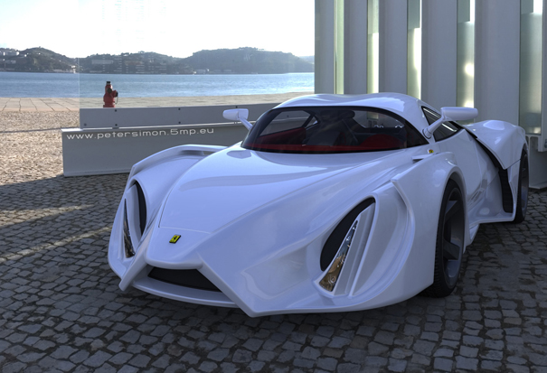 Ferrari Enzo by Peter Simon