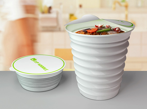 Accordion Package for Noodles by Liu Yi, Jiang Yuning & Luo Jing
