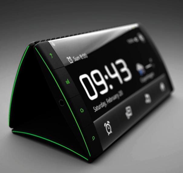 Flip Phone – Smartphone Concept by Kristian Ulrich Larsen