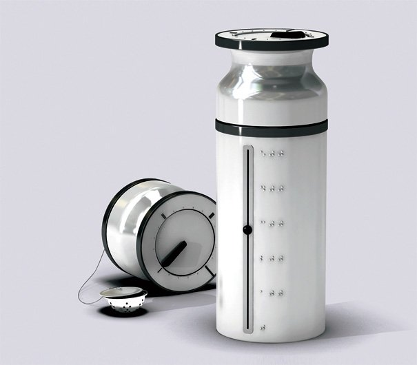 Special Teatime Braille Thermos by Halim Lee