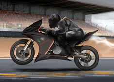 Speed Demon Powered by Biofuel