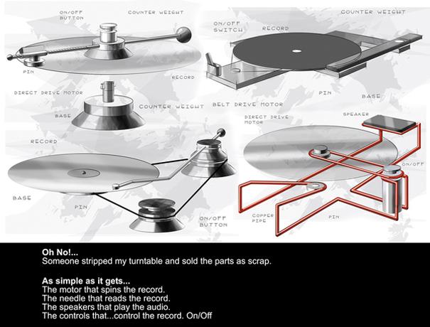 Nothing But Scratch | Yanko Design
