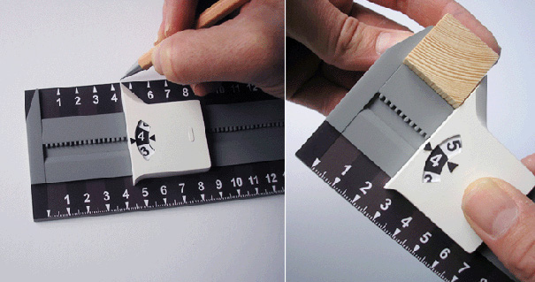 New Rule - Ruler Design by Product Tank