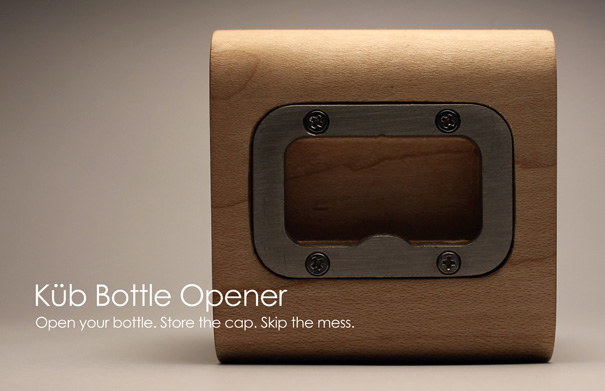 Küb Bottle Opener by Adam Moller