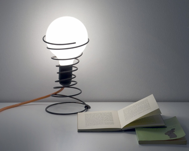 MOLLIGHT - Lamp by Alessandro Marelli » Yanko Design