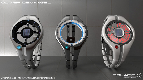 Solaris Series Concept Watches by Olivier Demangel