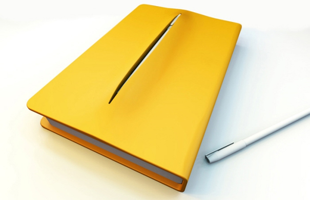 Notebook with Pen Holder by Teo Song Wei