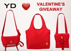 Valentines Giveaway: Limited Edition The Herbas + The Freckle CNY Bags