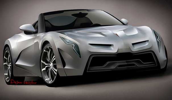 Pontiac Solstice 2 Concept Car by Dejan Hristov