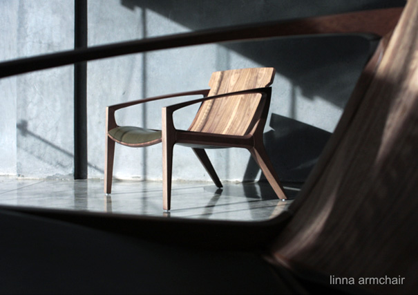 Linna Armchair by Jader Almeida
