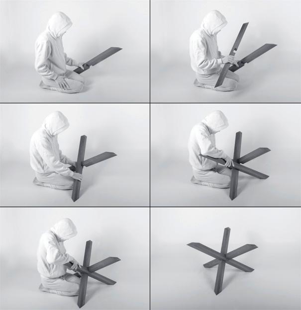 puzzle coffee table | yanko design