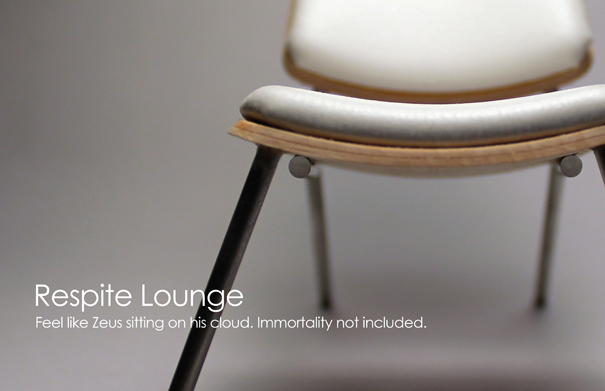 Respite Lounge Chair by Adam Moller