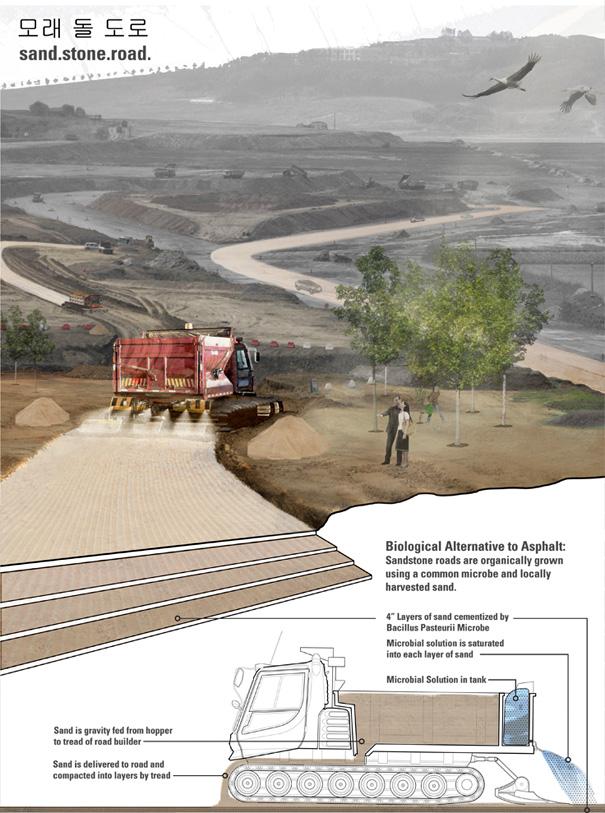 SandStone Road by Thomas Kosbau & Andrew Wetzler