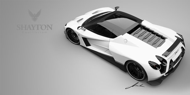 Shayton Equilibrium hypercar by PROVOCO for Shayton Automotive