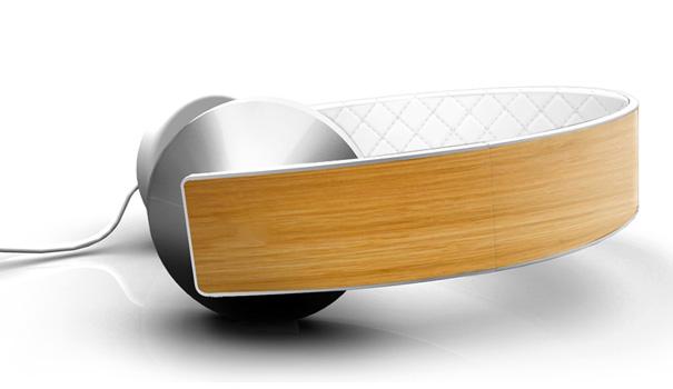 Ashcraft Aria Headphones by Britt Ashcraft for Ashcraft Design
