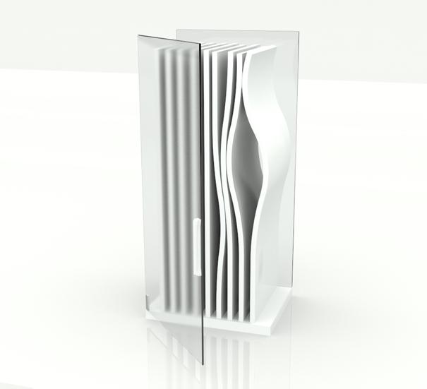 Membrane refrigerator concept by Vytis Vasiliūnas
