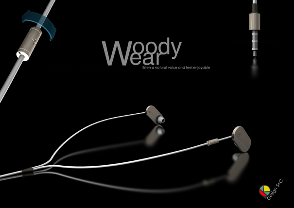 Woody ear by Sung-Ching Chang