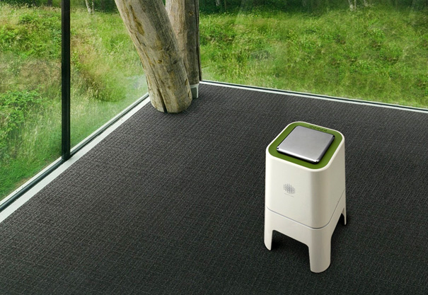 Hurun Air Stool - Air Purifier by Sang Keun Sim & Kyowon L&C Design Team