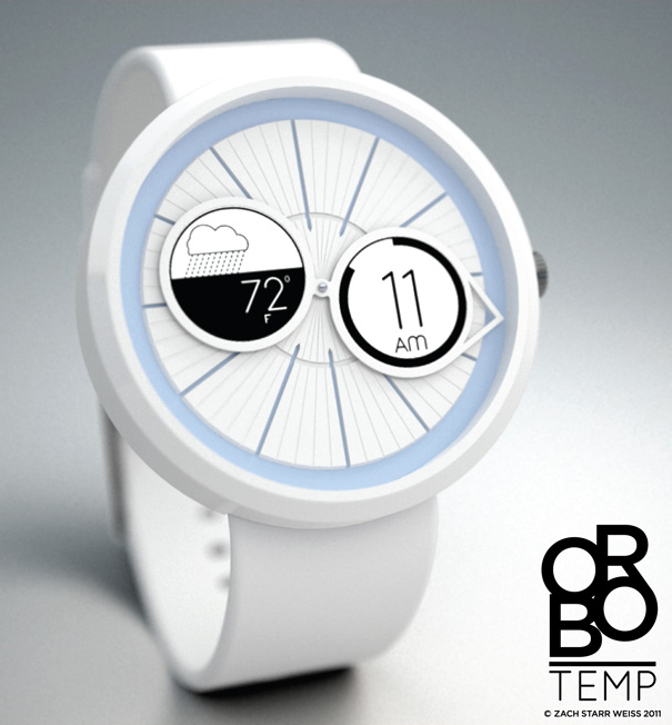 Orbo Watch Series by Zach Weiss