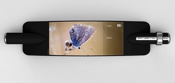 Traccia Concept Phone by Andrea Ponti