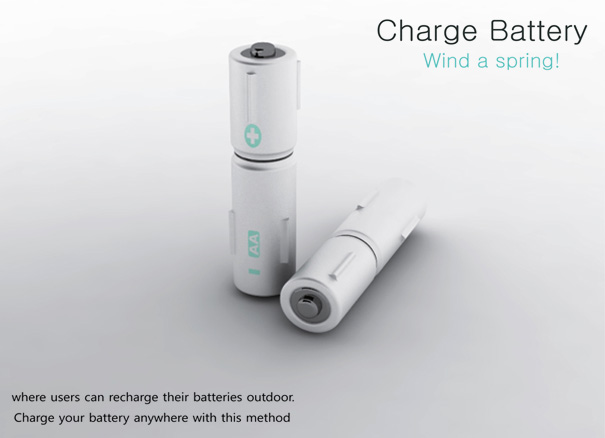 Charge Battery Concept by Yeon Kyeong Hwang & Mieong Ho Kang
