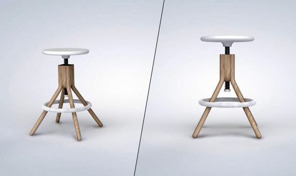 Stoool - Stool Design by Pierre Duthoit