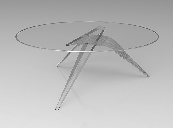 Crucifixion Coffee Table by Fuquan Junzefor for Oil Monkey