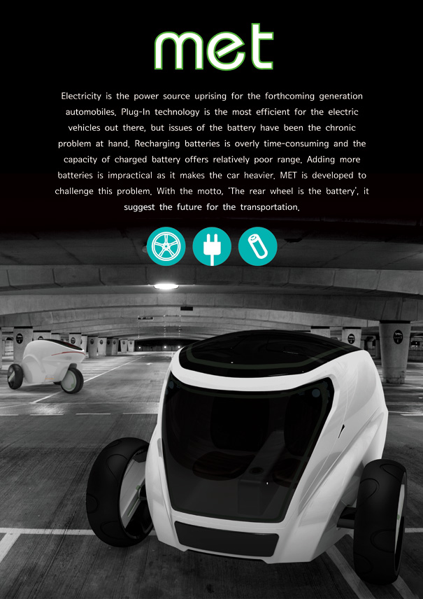 MET Car Concept by Kyu-Hyun Lee & Sol Lee
