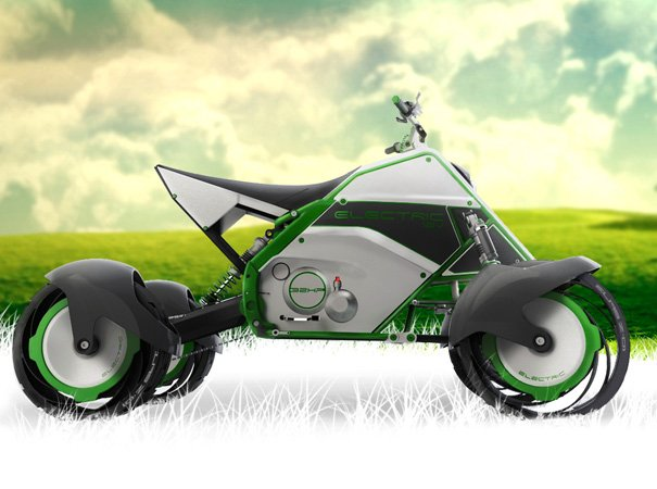 The Quad Electric Bike by Facundo Elias