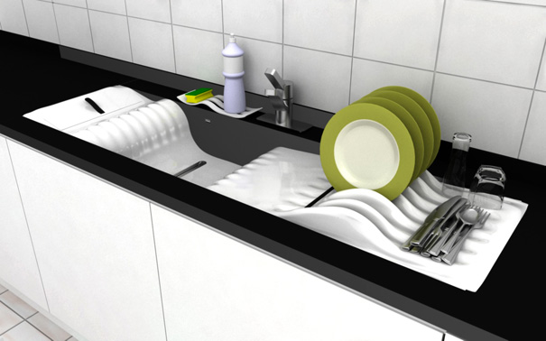 S-Lav Kitchen Sink by Juan Francisco Solari Howard