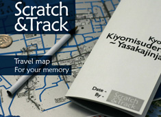 Map Your Travels by Scratching