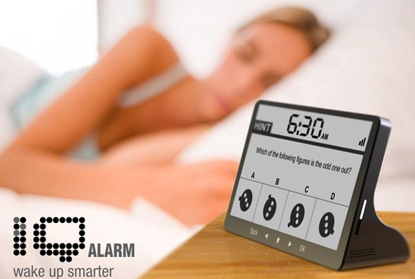 The iQ Alarm Clock by Oliver Sha
