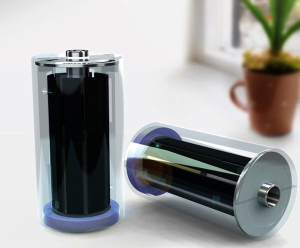 Light Catcher – Solar AA & AAA Battery by Yung-Hsaing Chang