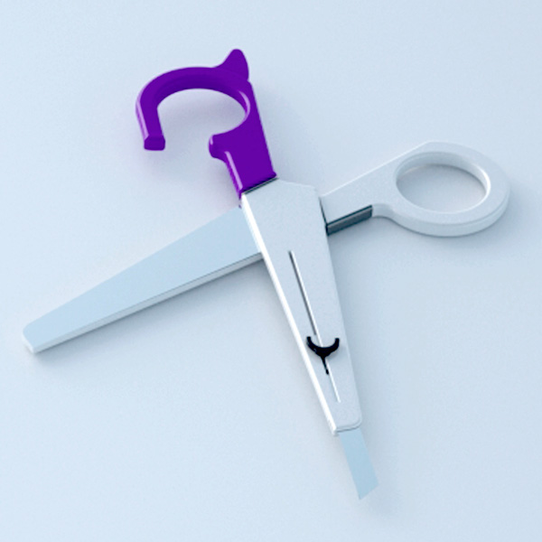 Freecutter – Scissors With Integrated Cutter by Junho Jin