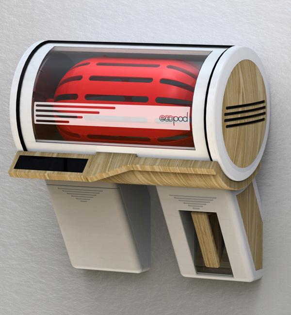 Экологическая стиральная машина ECOPOD