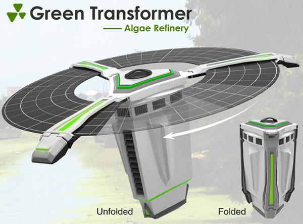 Green Transformer by Yi Liu, Jiang Yu-ning & Luo Jing