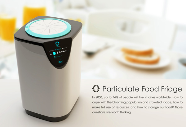 Particulate Food Fridge by Luo Jing