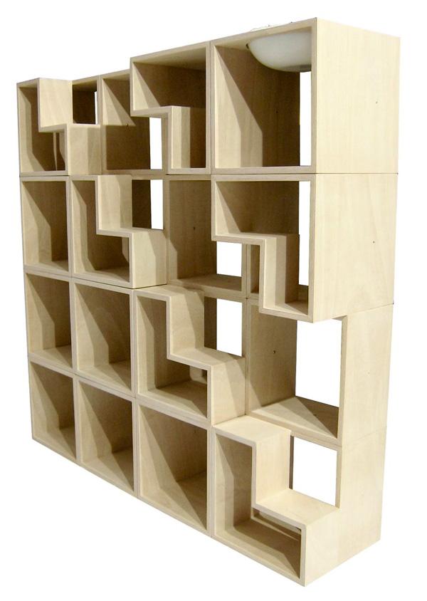 100 Cat Friendly Modular Bookshelf Yanko Design