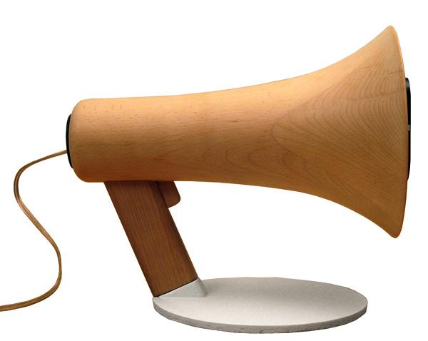 Megaphones Loudspeakers by Corentin Dombrecht