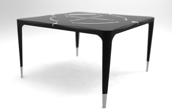 Moon Table Isn't Just for Looks