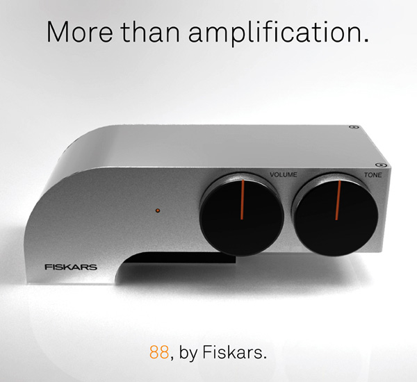 Fiskars 88 - Headphone Amplifier Concept by Edouard Urcadez
