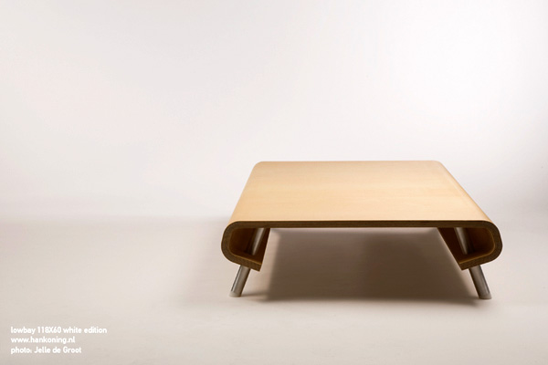 Lowboy Salon Table by Han Koning