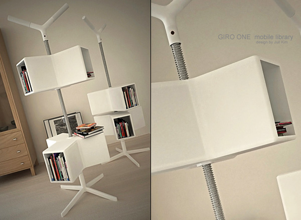 Giro One – Mobile Library by Juil Kim